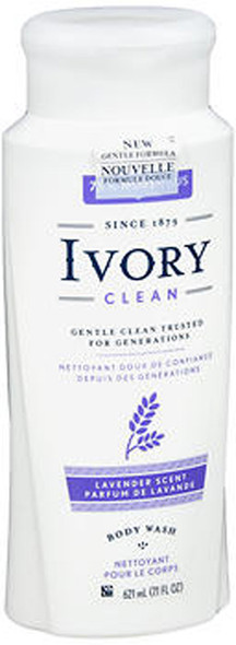 Ivory Clean & Simple Scented Body Wash Lavender - 21 oz