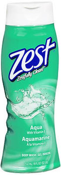 Zest Body Wash Aqua - 18 oz