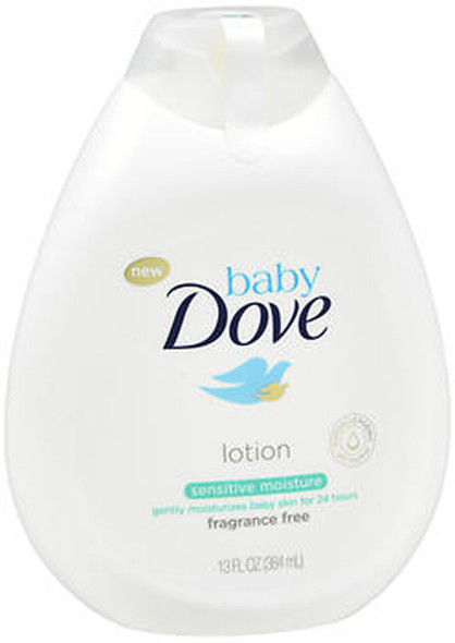 Baby Dove Lotion Sensitive Moisture Fragrance Free - 13 oz