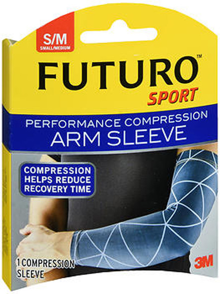 Futuro Sport Performance Compression Arm Sleeve Small/Medium - 1 ea
