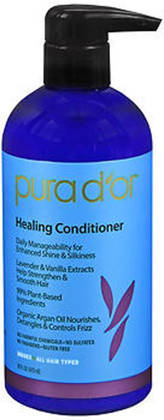 Pura d'Or Healing Conditioner - 16 oz