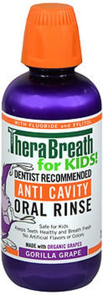 TheraBreath For Kids Anti Cavity Oral Rinse - 16 oz