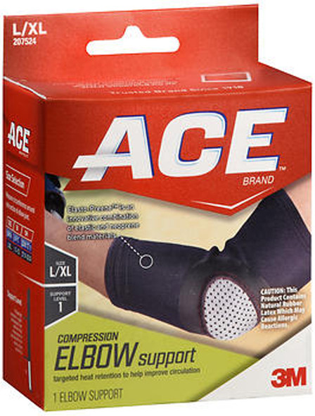 Ace Compression Elbow Support L/XL Level 1 - 1 each