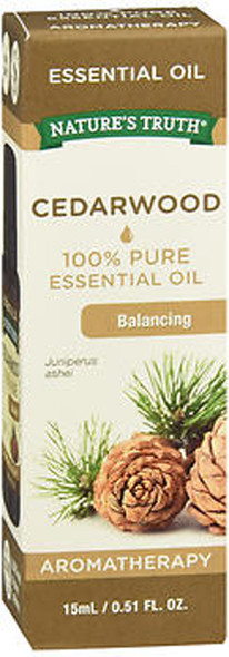 Nature's Truth 100% Pure Essential Oil Cedarwood - .5 oz