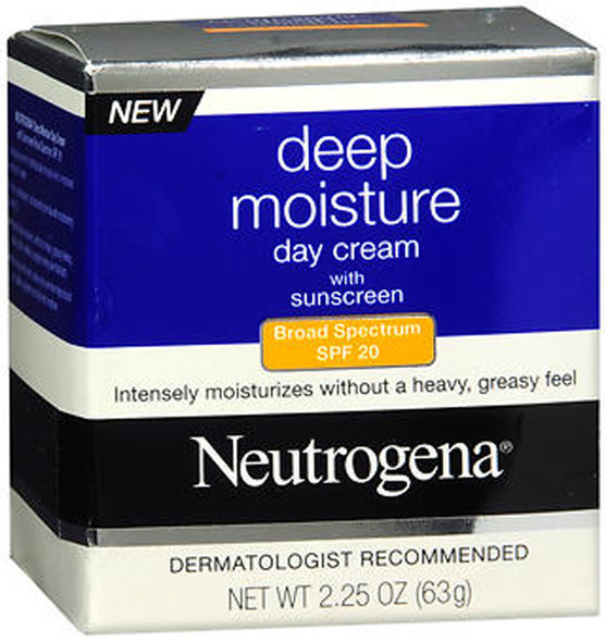 Neutrogena Deep Moisture Day Cream SPF 20 - 2.25 oz