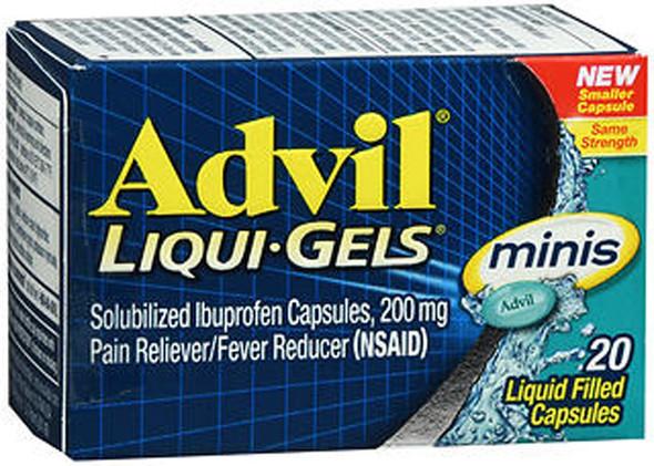 Advil Liqui-Gels Capsules  - 20 ct