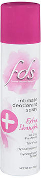 FDS Intimate Deodorant Spray Extra Strength - 2 oz