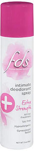 FDS Intimate Deodorant Spray Extra Strength - 2 oz