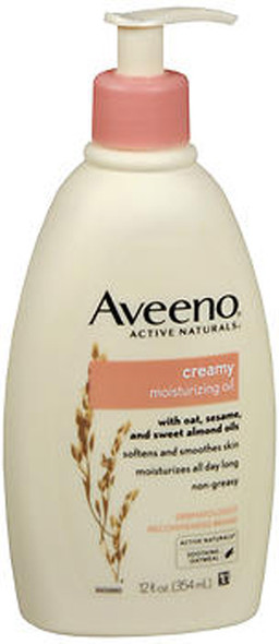 Aveeno Active Naturals Creamy Moisturizing Oil - 12 oz