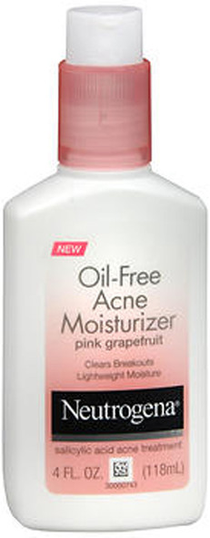 Neutrogena Oil-Free Acne Moisturizer Pink Grapefruit - 4 oz