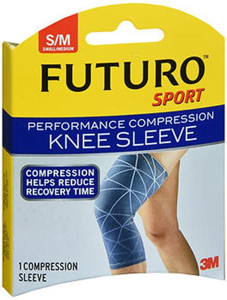 Futuro Sport Performance Compression Knee Sleeve Small/Medium - 1 Sleeve