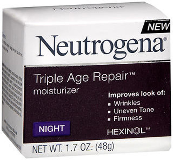 Neutrogena Triple Age Repair Moisturizer Night - 1.7 oz
