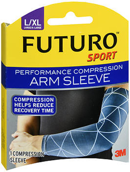 Futuro Sport Performance Compression Arm Sleeve Large/X-Large - 1 ea