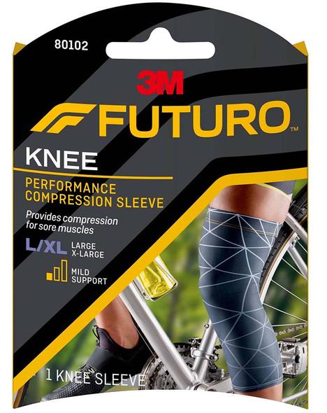 Futuro Sport Performance Compression Knee Sleeve Large/X-Large - 1 Sleeve