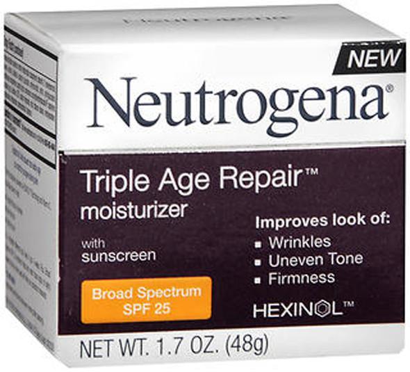 Neutrogena Triple Age Repair Moisturizer SPF 25 - 1.7 oz