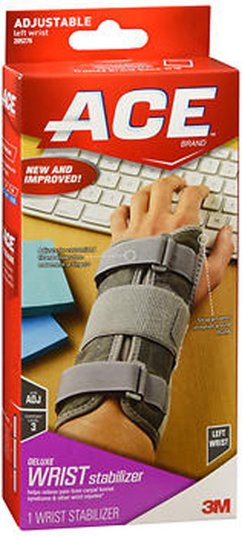 Ace Deluxe Left Wrist Stabilizer - 1 each