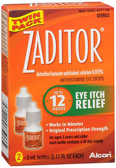 Zaditor Antihistamine Eye Drops - 10 mL