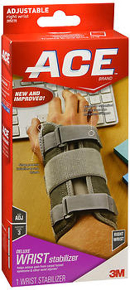Ace Deluxe Right Wrist Stabilizer - 1 each