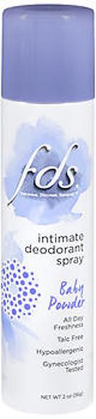FDS Intimate Deodorant Spray Baby Fresh - 2 oz