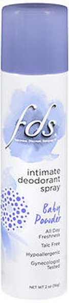 FDS Intimate Deodorant Spray Baby Fresh - 2 oz