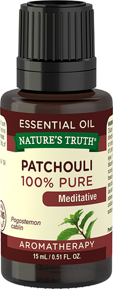 Nature's Truth Aromatherapy Essential Oil Patchouli Dark - .5 oz