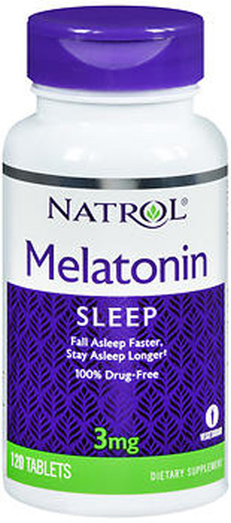 Natrol Melatonin 3mg - 120 Tablets