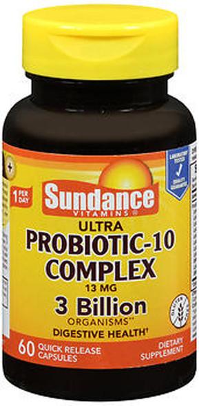 Sundance Ultra Probiotic-10 Complex Quick Release - 60 Capsules