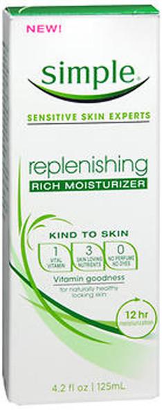 Simple Replenishing Rich Moisturizer - 4.2 oz