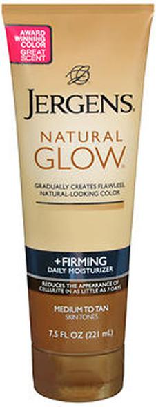 Jergens Natural Glow + Firming Daily Moisturizer Medium to Tan Skin Tones - 7.5 oz