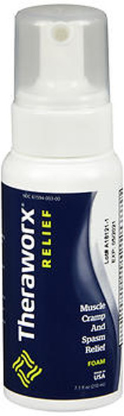 Theraworx Muscle Cramp and Spasm Relief Foam - 7.1 oz