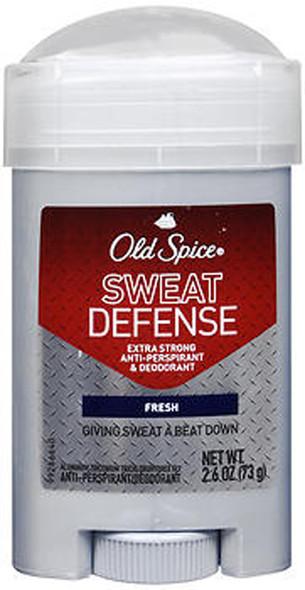 Old Spice Sweat Defense Anti-Perspirant Deodorant Solid Fresh - 2.6 oz
