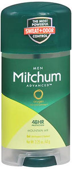 Mitchum Men Advanced Anti-Perspirant & Deodorant Gel Mountain Air - 2.25 oz