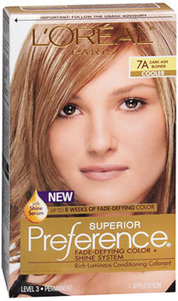 L'Oreal Superior Preference - 7A Dark Ash Blonde (Cooler)