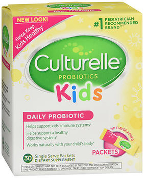 Culturelle Kids! Probiotic Powder Packets - 30 ct