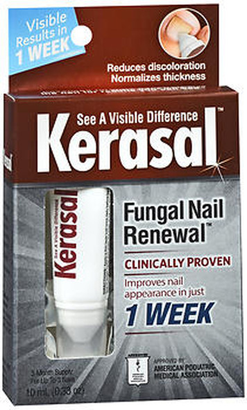 Kerasal Nail Fungal Nail Renewal Treatment - 0.33 oz