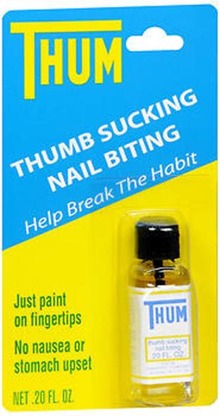 Thum Thumb Sucking and Nail Biting Liquid - 0.2 oz