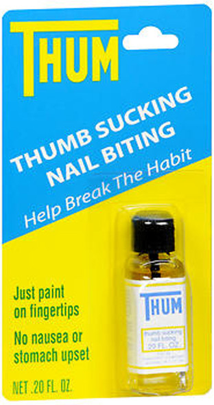 Thum Thumb Sucking and Nail Biting Liquid - 0.2 oz