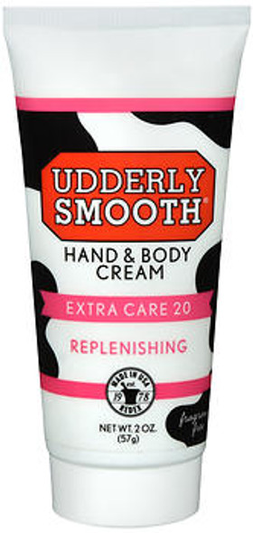 Udderly Smooth Hand & Body Cream Extra Care 20 Replenishing - 2 oz