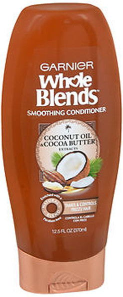 Garnier Whole Blends Smoothing Conditioner Coconut Oil & Cocoa Butter - 12.5