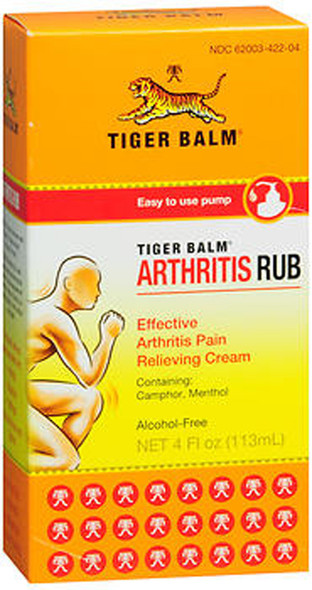 Tiger Balm Arthritis Rub - 4 oz