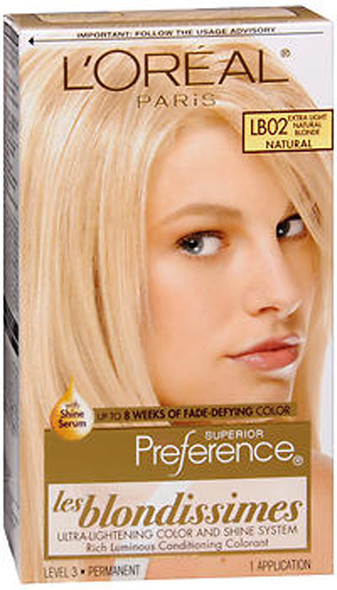 L'Oreal Superior Preference Les Blondissimes - LB02 Extra Light Natural Blonde (Natural)