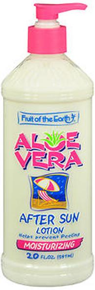 Fruit of the Earth Aloe Vera After Sun Lotion - 20 oz