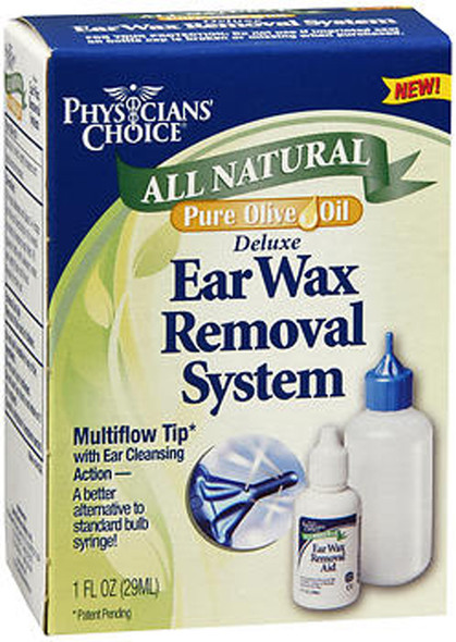 Physicians' Choice All Natural Pure Olive Oil Deluxe Ear Wax Removal System - 1 each