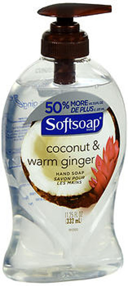 Softsoap Hand Soap Coconut & Warm Ginger - 11.25 oz
