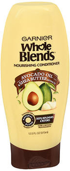 Garnier Whole Blends Nourishing Conditioner Avocado Oil & Shea Butter Extracts - 12.5 oz