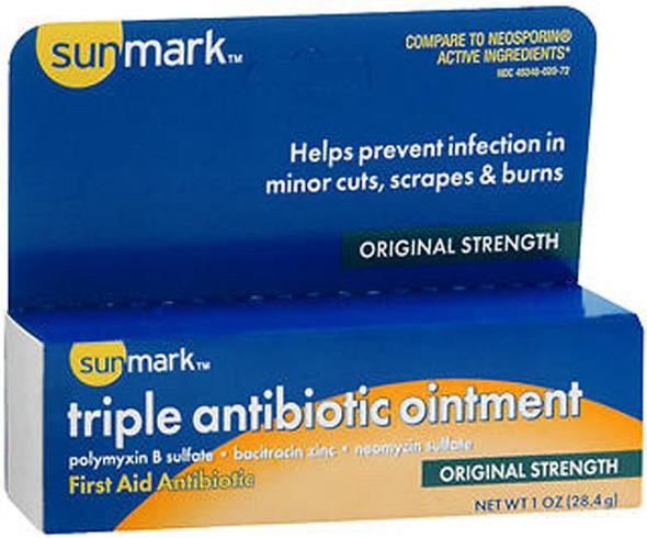 Sunmark Triple Antibiotic Ointment, Original Strength - 1 oz