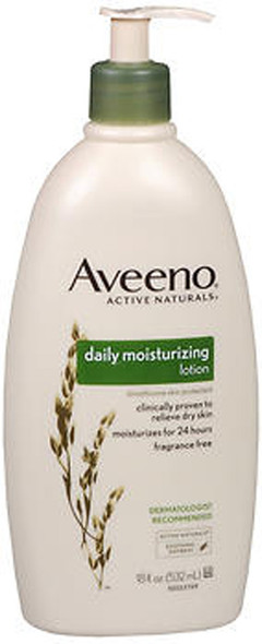 Aveeno Active Naturals Daily Moisturizing Lotion Fragrance Free - 18 fl oz