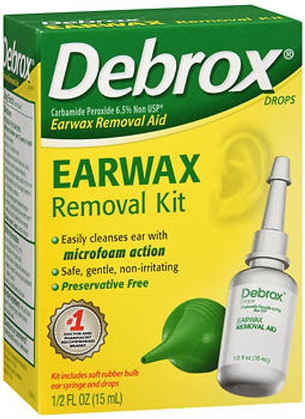 Debrox Earwax Removal Aid Kit - 0.5 oz