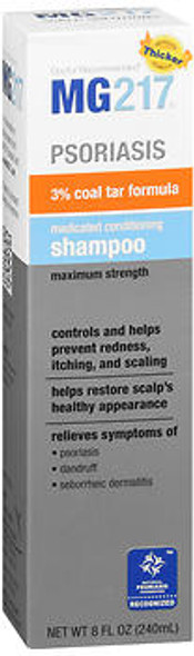 MG217 Psoriasis Medicated Conditioning Shampoo Maximum Strength - 8 oz