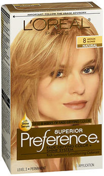 L'Oreal Superior Preference - 8 Medium Blonde (Natural)
